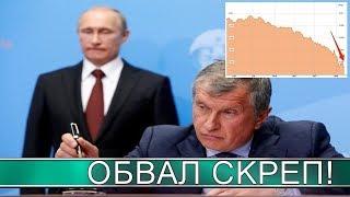 Рубль падает, акции российских компаний дешевеют, Кремль негодует