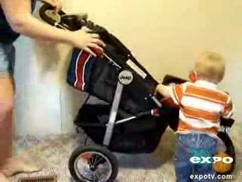 The Jeep Liberty Urban Terrain Stroller! - YouTube