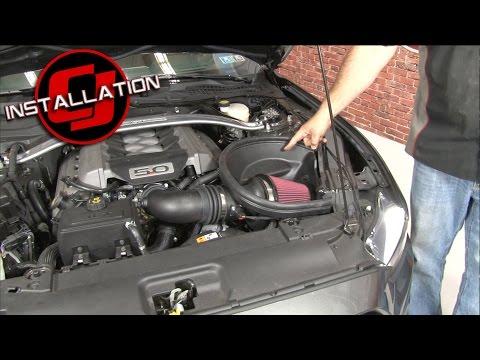 2015-2017 Mustang GT Roush Cold Air Intake Kit Installation