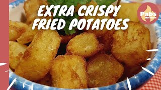 Fried Potatoes [ Extra Crispy! 🌿 ] - Pabs Kitchen