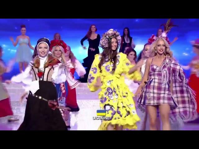 Презентация и национальный танец на МИСС МИРА 2017 || ПОЛИНА ТКАЧ - МИСС УКРАИНА 2017