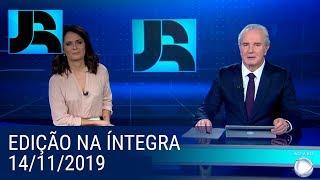 Assista à íntegra do Jornal da Record   14/11/2019