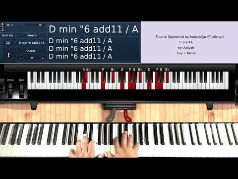 I Care 4 U (by Aaliyah) + (Challenge Video) - Piano Tutorial
