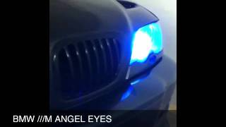 BMW ///M Angel Eyes (Neon Blue)