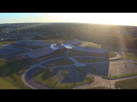 Shoally Creek Elementary School Drone