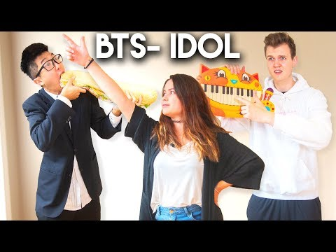 LEARNING BTS IDOL CHOREOGRAPHY IN A DAY WITH LANKYBOX