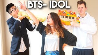 Baixar LEARNING BTS IDOL CHOREOGRAPHY IN A DAY WITH LANKYBOX