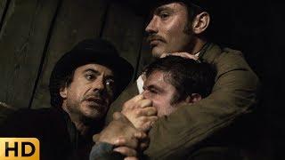 Холмс и Ватсон прерывают тайный ритуал. Шерлок Холмс 2009.