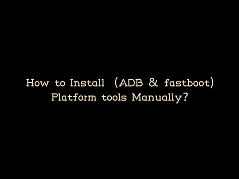 How To Install ADB Tools In Linux Manually SDK Platform Tools