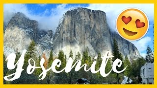 HAVE TO SEE THIS | Yosemite National Park in Winter 😍❄ 🏔 ⛄