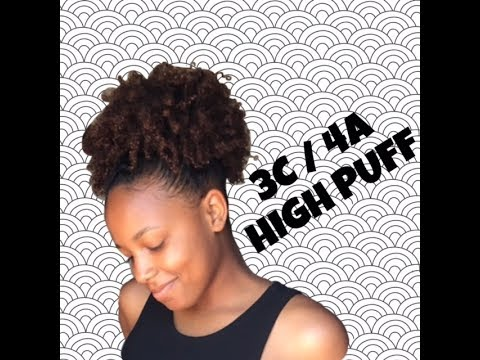 natural high puff - 3c 4a med