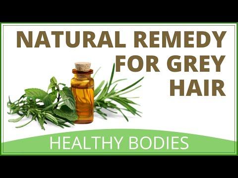Herbal Remedy For Grey Hair