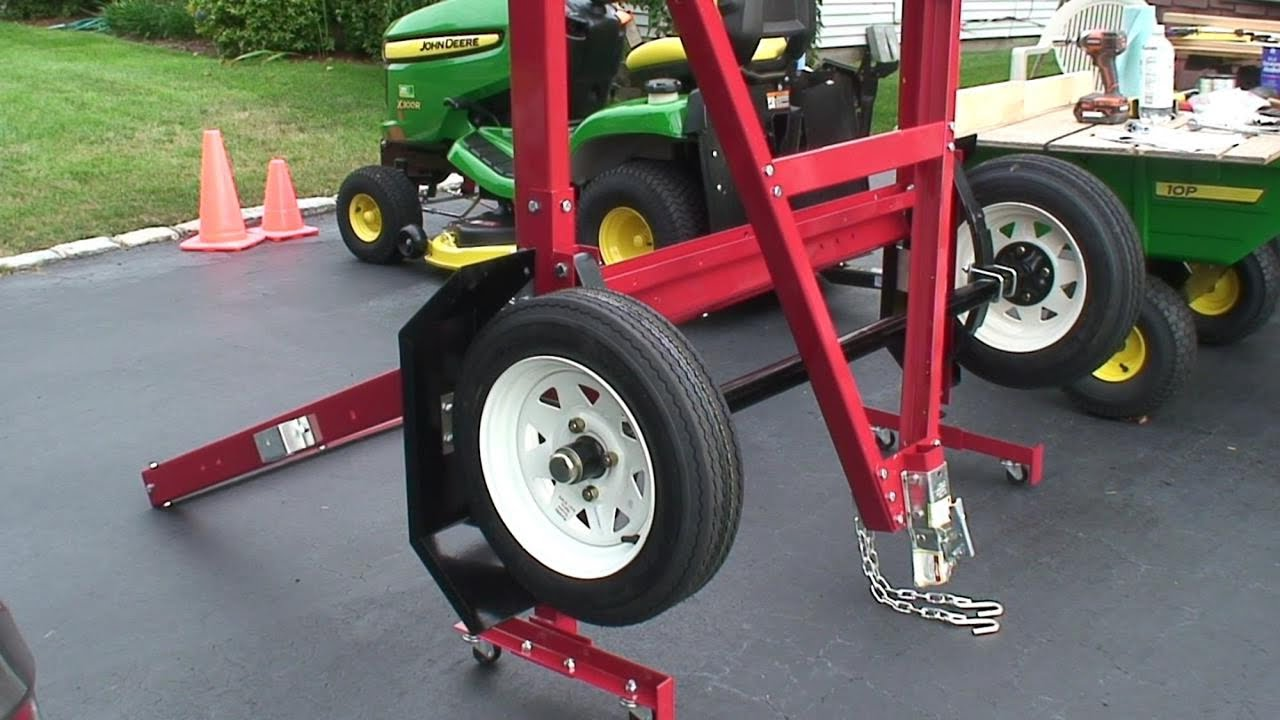 maxresdefault harbor freight folding trailer assembly, model 90154 youtube