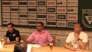 Teutonia Watzenborn-Steinberg - 1. FC Saarbrücken |Pressekonferenz nach dem Spiel 9.Spieltag 16/17