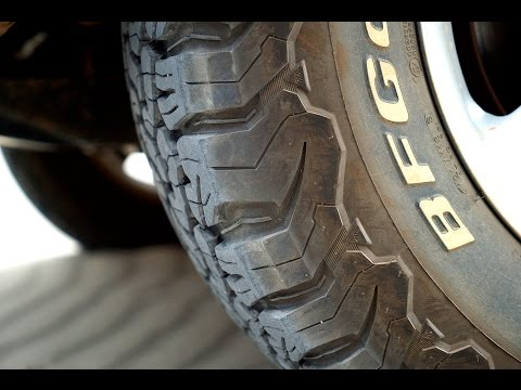 BF Goodrich All-Terrain KO2 tire review
