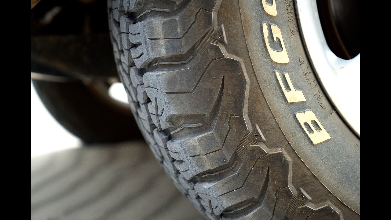 Bf Goodrich All Terrain Ko2 Tire Review Youtube