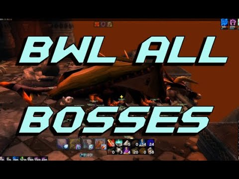 Blackwing Lair - Full clear, all bosses - Classic World of Warcraft - Resto Shaman POV from YouTube · Duration:  27 minutes 24 seconds