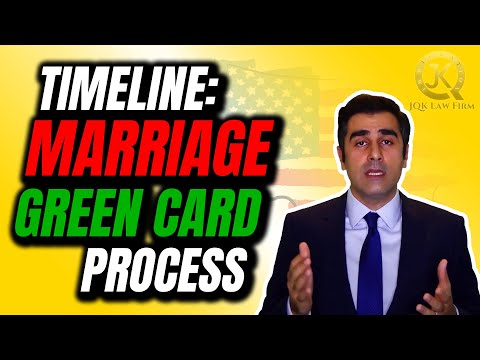 How Long For Marriage Green Card?