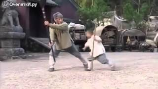 Видео прикол №2 (Мальчик учит Джеки Чана)