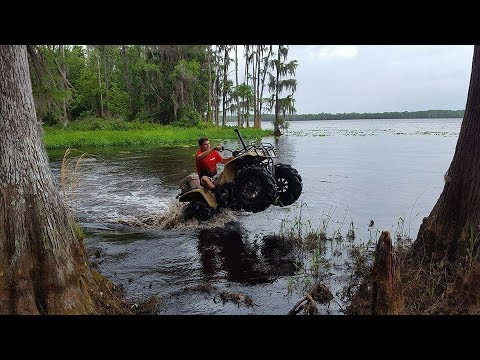 Holopaw Air boat trail from brick lake rain flips and stucks Ace and 300