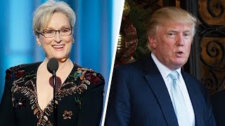 Meryl Streep Gives a Wack And Pretentious Anti Donald Trump Speech At the Golden Globes (REACTION)