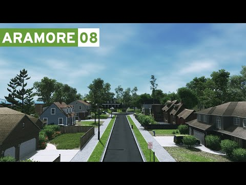 Cities Skylines: Aramore (Episode 8) - Suburbs!