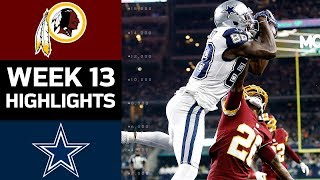 Redskins vs. Cowboys | NFL Week 13 Game Highlights thumbnail