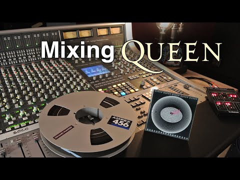"""Mixing Queen's """"Don't Stop Me Now"""" On An Analog SSL Console -  GoPro POV"""