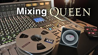 Mixing Queen's Don't Stop Me Now on an Analog SSL Console - GoPro POV