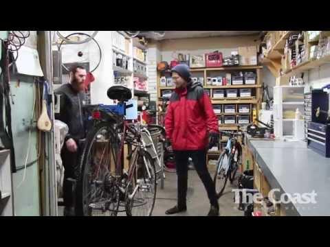 Winter biking in Halifax