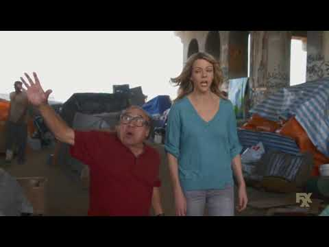 Always Sunny - Frank REALLY wants to say the n-word