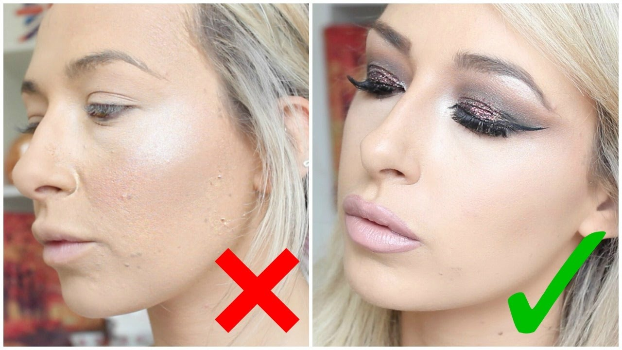 how to get really clean makeup lines