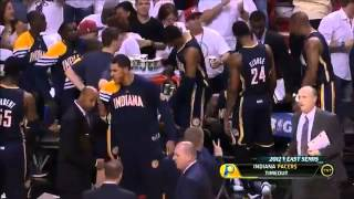 Dwyane Wade sick spin move dunk (Pacers - 4/15/12)