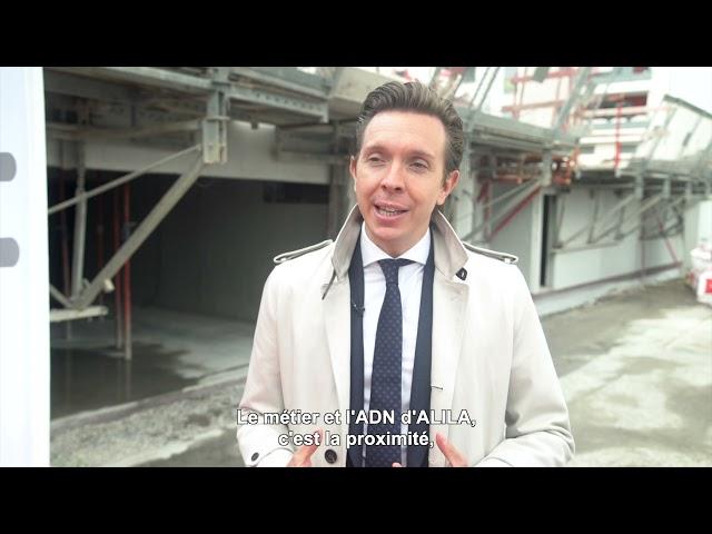 ALILA –1ère Pierre de LES TERRASSES DE L'ANCION à Thonon-les-Bains–Hervé LEGROS–PDG Groupe ALILA 2/2