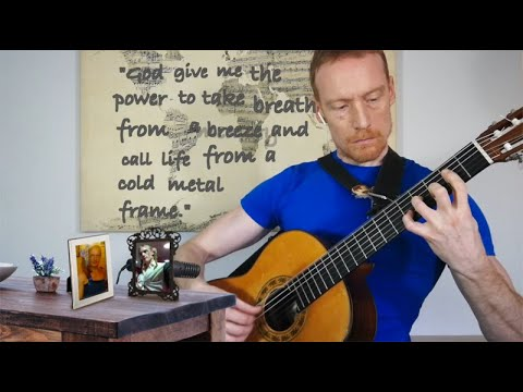Wait For Sleep - Dream Theater - Classical Guitar Solo