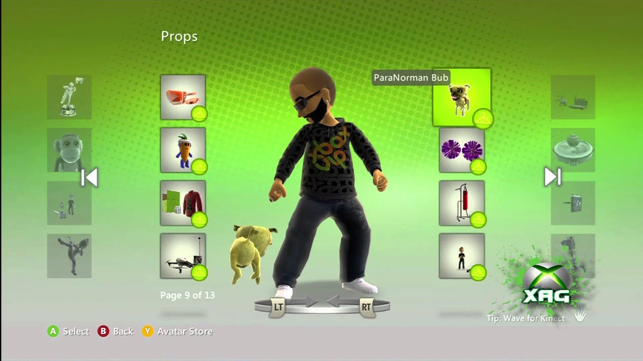 Paranorman Game Xbox One : Paranorman bub xbox avatar prop freebie us dashboard