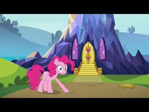 Pinkie shows Maud Twilight's Castle - Rock Solid Friendship
