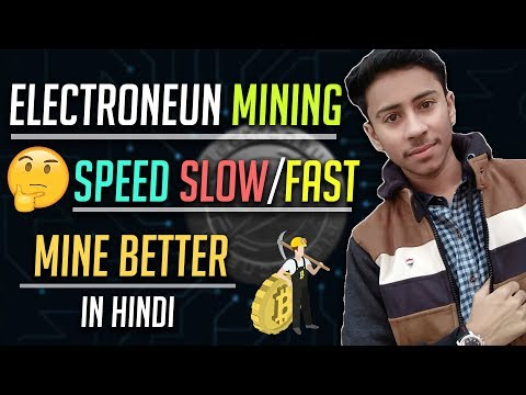 Electroneum Make Mobile Mining Speed Faster | Bitcoin & Altcoins Market Updates | Hindi