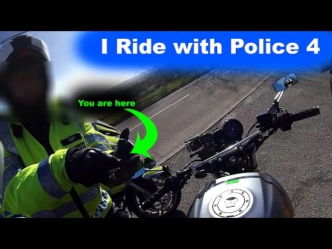 BikeSafe-London ride - Part 4 - New Roads - Where I almost drop my bike