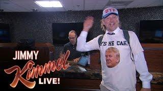 Jake Byrd at the Presidential Debate in Las Vegas