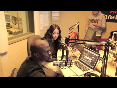 Interview with WGCI Morning Riot Show