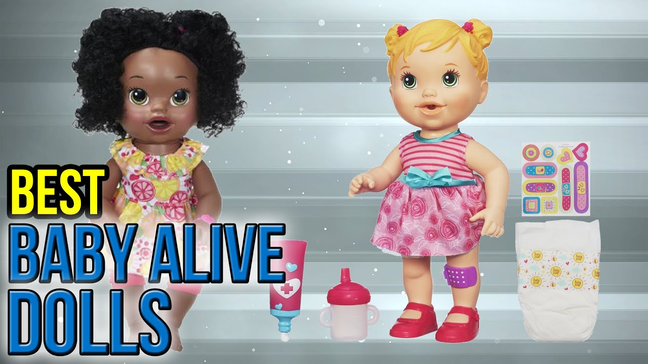 56e952987fc3 10 Best Baby Alive Dolls 2017 - YouTube