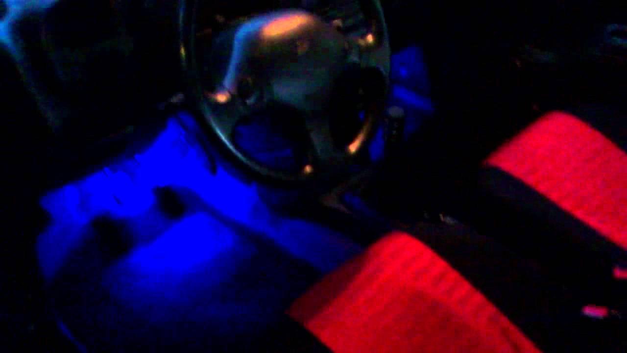 neon pedaal verlichting cuore