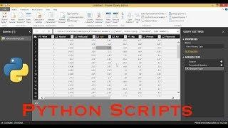 Running Python Scripts in Power BI