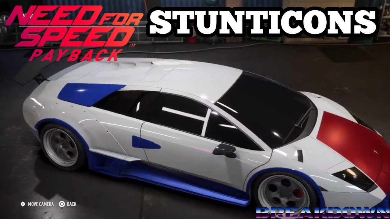 Stunticons made in Need for Speed Payback By Kato's Kollection