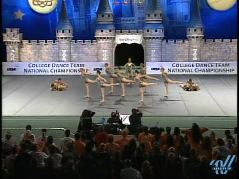 2010 UDA College Nationals: University of Tennessee- Div IA Jazz 2nd place