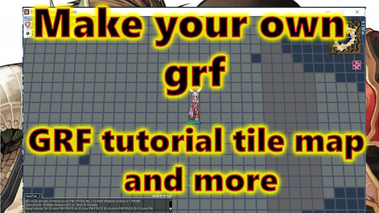 Ragnarok Online GRF Tutorial |Graymap|Giant card|Giant kafra|Chibi and more  by Everything I Like