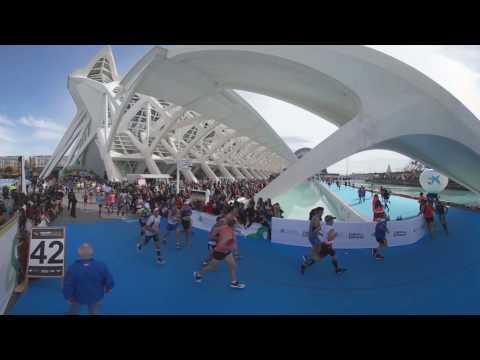 Recorrido Maratón Valencia - Experiencia 360º