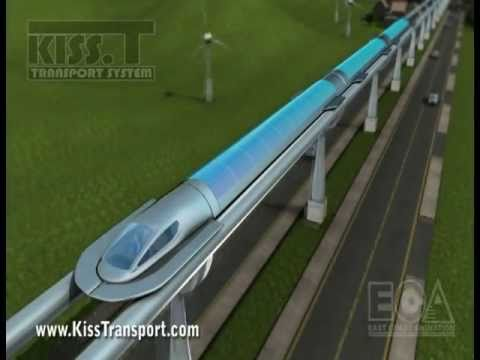 Maglev Train Demonstration Linear Synchronous Motor A