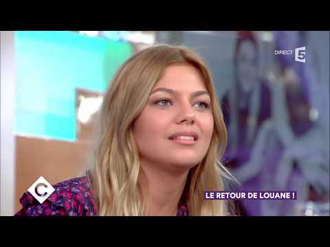 François Damiens, Cécile de France et Louane - C à vous - 04/09/2017